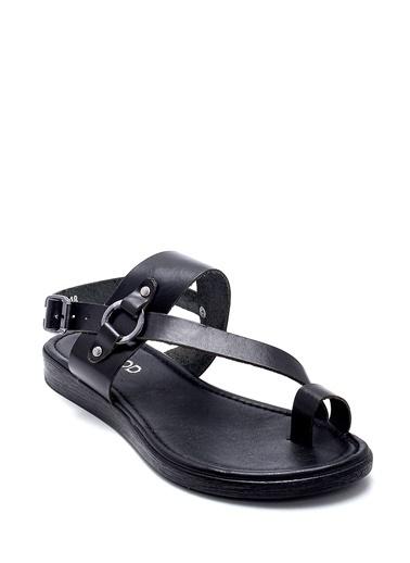 Derimod Kadın Sandalet (111) Casual Siyah